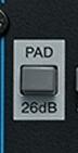 channel strip pad attenuazione