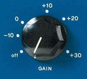 gain compressore